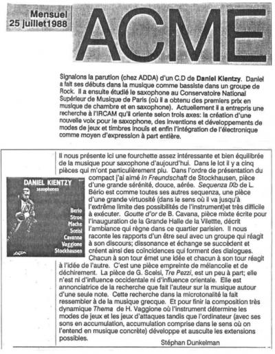 ACME - ADDA