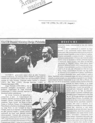 Actualitatea Muzicalà CD