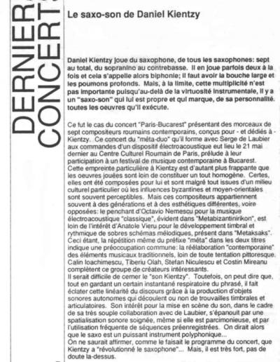 Derniers Concerts - ACME