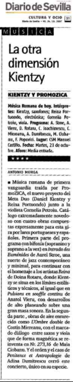 Diaro de Sevilla Musica